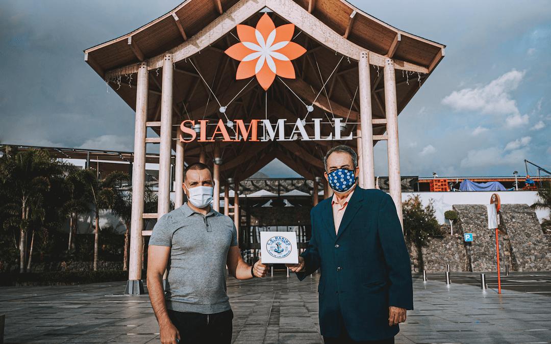 Centro Comercial Siam Mall ya es nuevo colaborador oficial del CD Marino