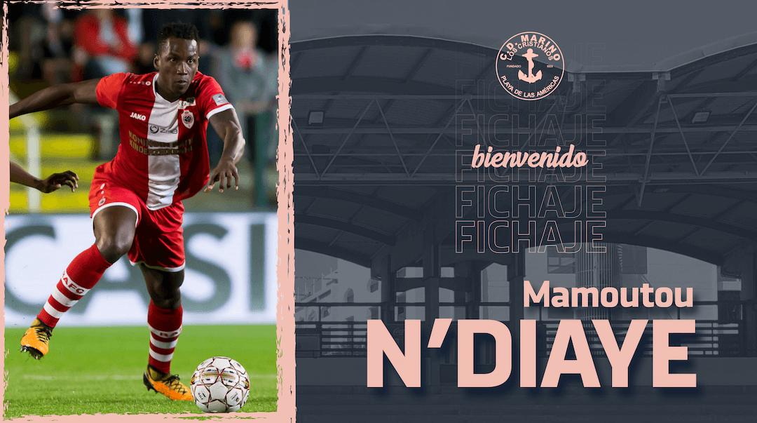 ¡Bienvenido, Mamoutou N'Diaye!