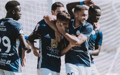 El CD Marino puntúa ante el Algeciras CF (1-1)