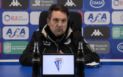 """Kiko de Diego: """"Nuestra eficacia de cara al gol ha sido determinante para llevarnos la victoria."""""""