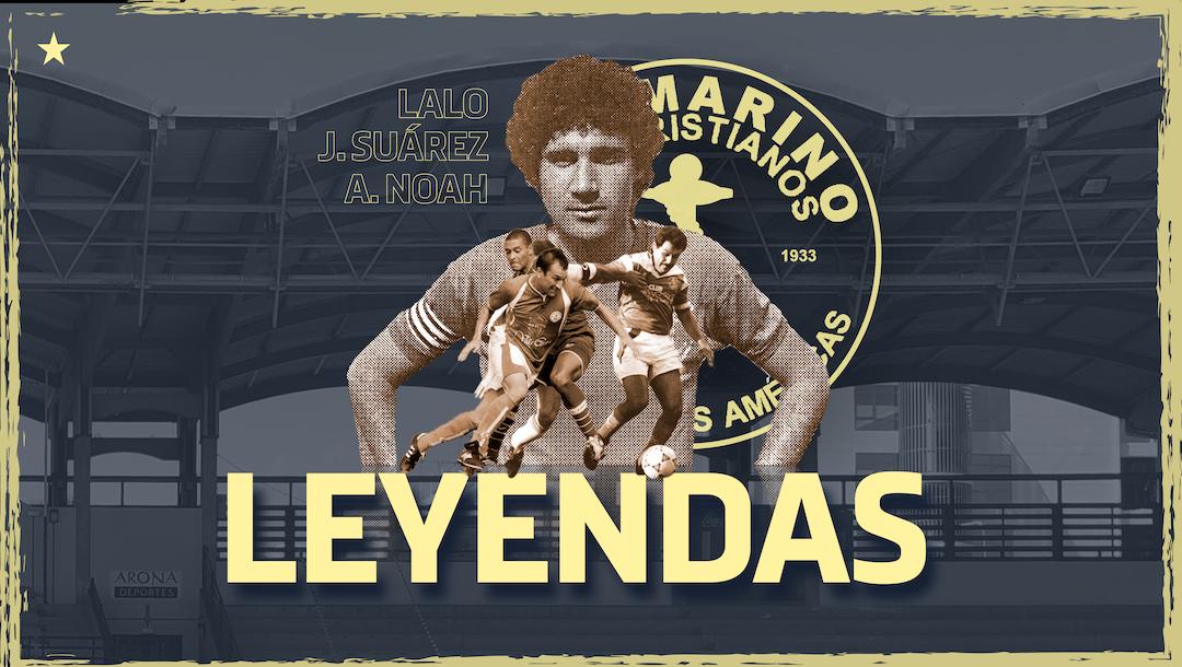 El CD Marino rendirá homenaje a Lalo, Julio Suárez y Alberto Noah, durante el partido ante el San Fernando CD