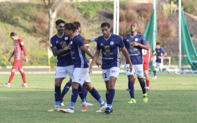El CD Marino pierde dos puntos en el último minuto frente al Recreativo Granada (1-2)