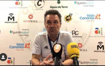 """Kiko De Diego, """"El objetivo es competir y estar en los puestos altos de la clasificación"""""""